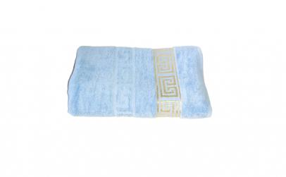 Prosop bumbac sauna grec albastru