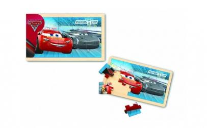 Cars 3  Puzzle din lemn  15 piese