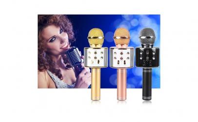 Microfon fara fir pentru karaoke