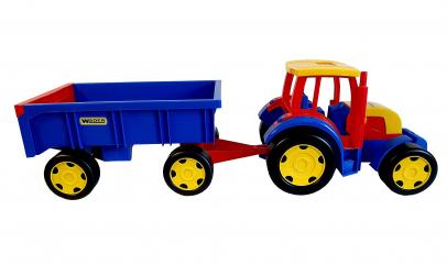 Tractor urias cu remorca detasabila