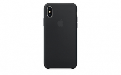 Husa iPhone Xs Max, Silicon, Black