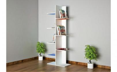 Biblioteca cu rafturi colorate 6036