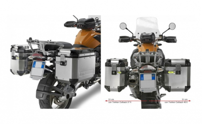 Cutii laterale metal GIVI OUTBACK BMW