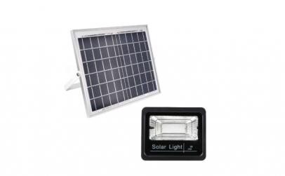 Proiector solar cu panou si telecomanda