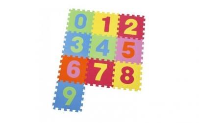 Covoras Puzzle din spuma - 9 bucati