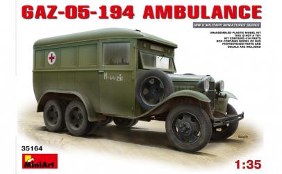 1:35 GAZ-05-194 Ambulance 1:35