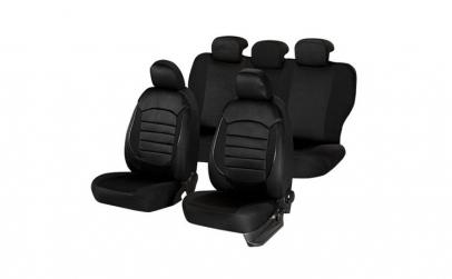 Huse scaune auto BMW E90/E91 Urban Negru