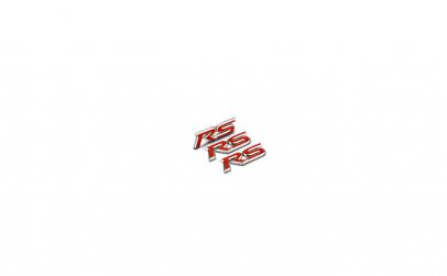 Emblema metalica RS