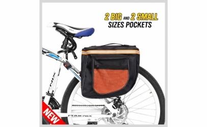 Geanta dubla pentru bicicleta