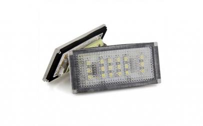 Set Lampi LED numar  BMW E46 2D (04-06)