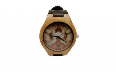 Ceas unisex, lemn, Watch of an Artist,