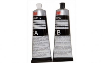 Kit bicomponent A B reparatie material