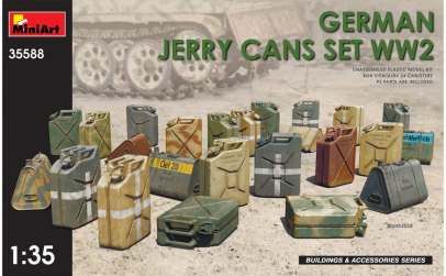 1:35 German Jerry Cans Set WW2 1:35