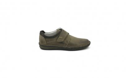Pantofi barbati, piele 6996, maro