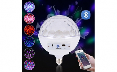 Bec inteligent RGB Disco Globe
