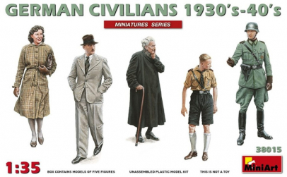1:35 German Civilians 1930-40s - 5