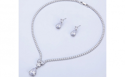 Set bijuterii Anebris Glamour White
