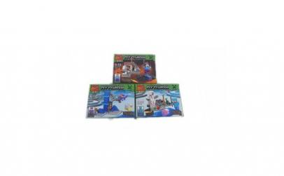 Set Puzzle, 3 modele diferite , MineCraf