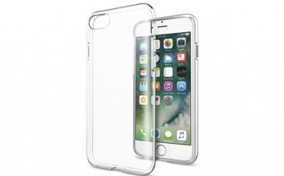 Husa silicon transparenta iphone 7