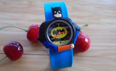 Ceas Copii Light Blue Batman