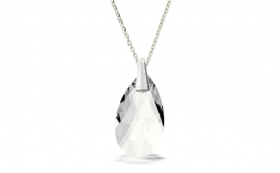 Colier Pear Crystal
