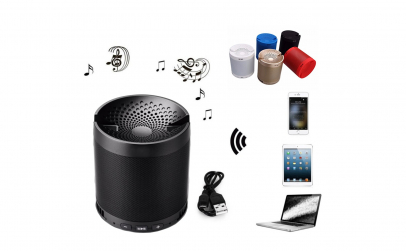 Boxa portabila Bluetooth Wireless, USB