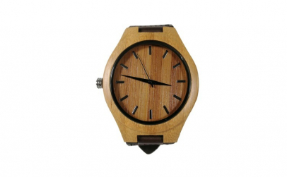 Ceas unisex, lemn, Wood Watch, curea