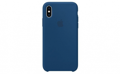 Husa iPhone XS Max, Silicon, Blue Horizo