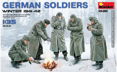 1:35 German Soldiers (Winter 1941-42) -