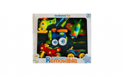 Joc puzzle de asamblare intelectual CO