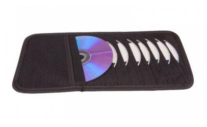 Suport CD pentru parasolar 10 cd, 4cars