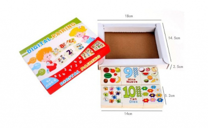 Puzzle numeric pentru copii