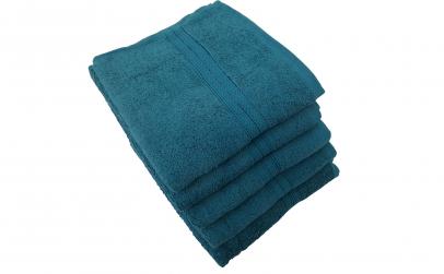 Set 5x Prosoape 50x88, albastru/verzui