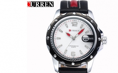 Ceas Curren C02 Red Stripes