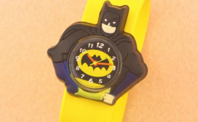 Ceas Copii Yellow Batman