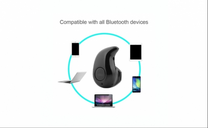 Casca mini Bluetooth 4.0 invizibila