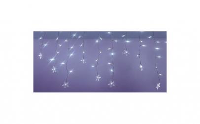 Perdea luminoasa tip turturi cu stele