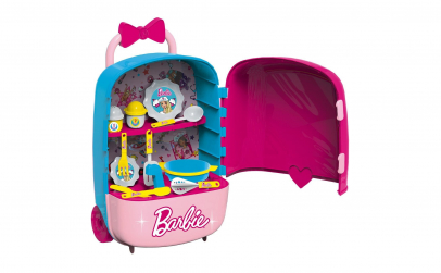 Bucatarie Barbie in troler 2 in 1
