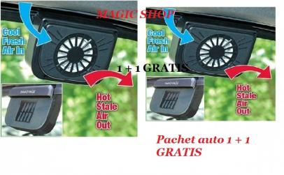 Ventilator solar auto 1+ 1 GRATIS