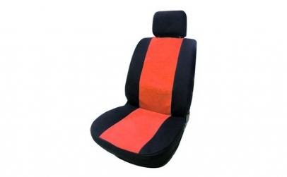Husa scaun 8060B2 negru+rosu