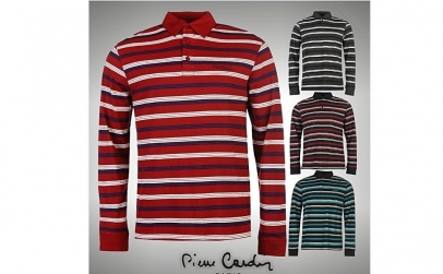 Pulover barbati Pierre Cardin LS Polo