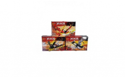 Set Puzzle de 3 modele, 8 in 1, Ninja