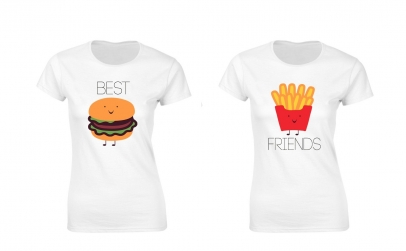 Set de tricouri Best Friends