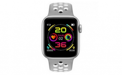 Ceas Smartwatch Techstar® W5 Argintiu