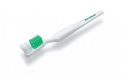 Periuta speciala pentru proteze dentare