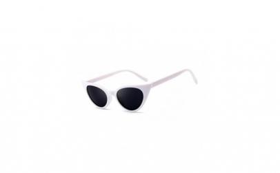 Ochelari de soare ochi de pisica, alb