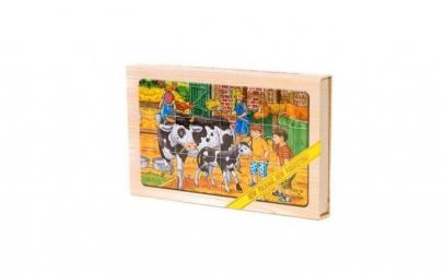 Puzzle din lemn pentru copiii