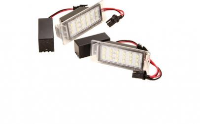 Set Lampi LED numar Chevrolet SS 2014