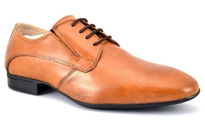 Pantofi Barbatesti Maro deschis Piele