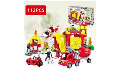 Set jucarie pompieri copii